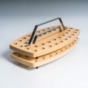 Ash Curved Stacking Communion Tray