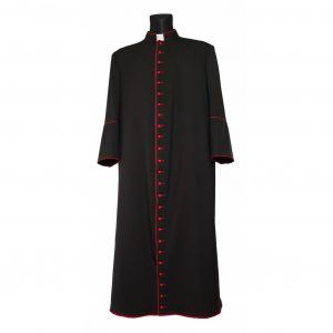Black Cassock Red Trim