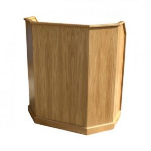 Church Lectern Wooden Pulpit by Grace Church Supplies