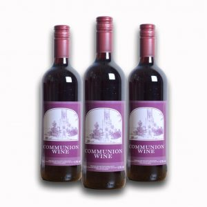Communion Wine by Grace Church Supplies