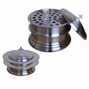 Stainless Steel Communion Trays by Grace Church Supplies