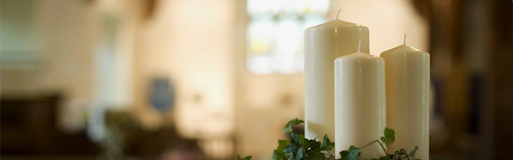 Church Candles with Beeswax by Grace Church Supplies