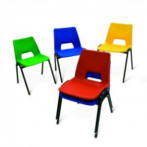 Poly Stacking Chair 7-9 yrs (From £13.50)