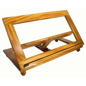 Large Wood Bible Stand