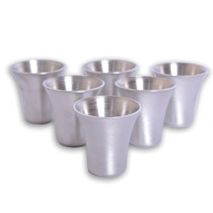 10 Pewter Communion Cups