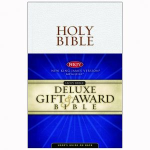 NKJV Gift Award Flexibind Bible White