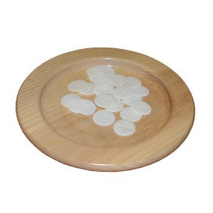 Ash Wood Bread Plate