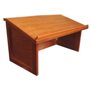 Wood Table Top Lectern