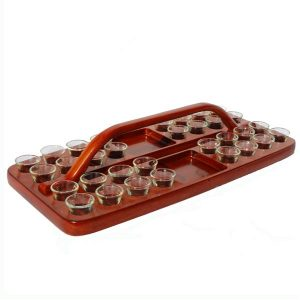 Communion Tray 03 Dark Mahogany