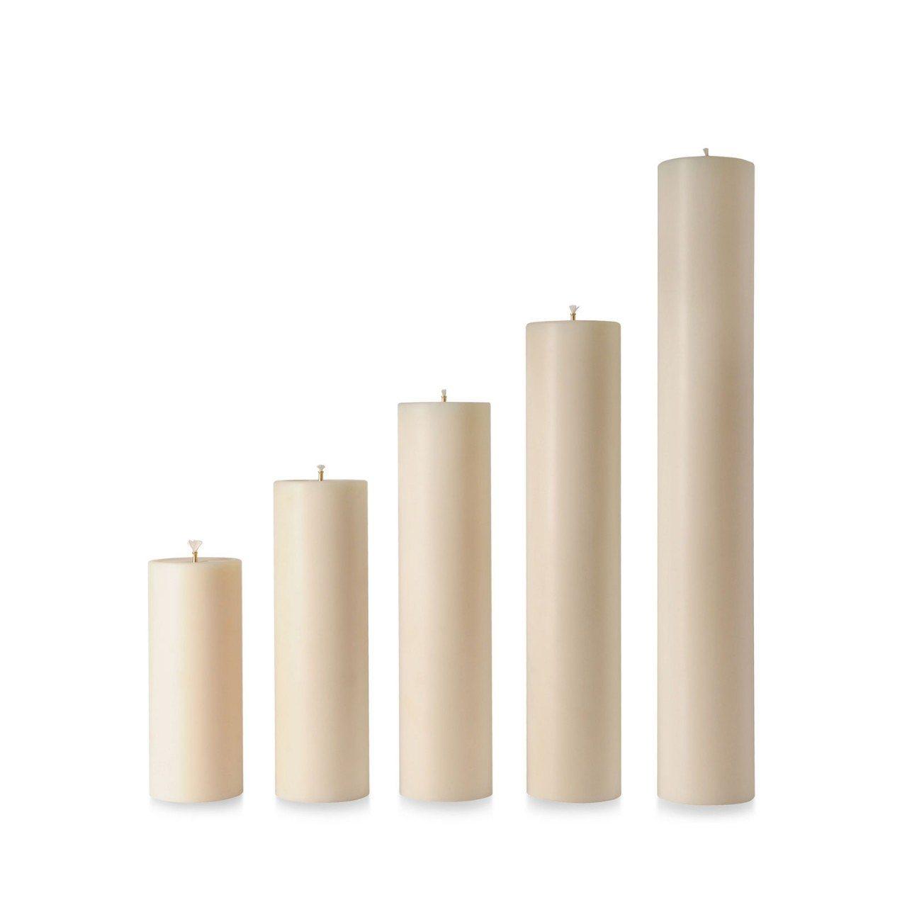 "36"" x 90mm Diameter Nylon Candle | Grace Church Supplies"