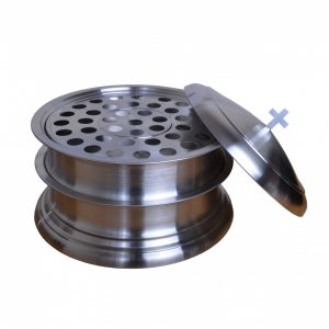 Stainless Steel Communion Set 02