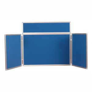 Desktop Folding Notice Board – Aluminium Frame