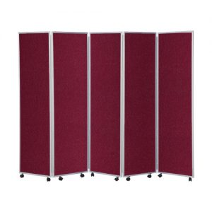 Mobile Concertina Room Divider – H1800