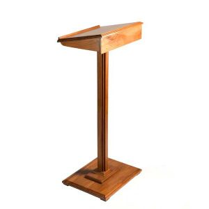Wood Lectern 1