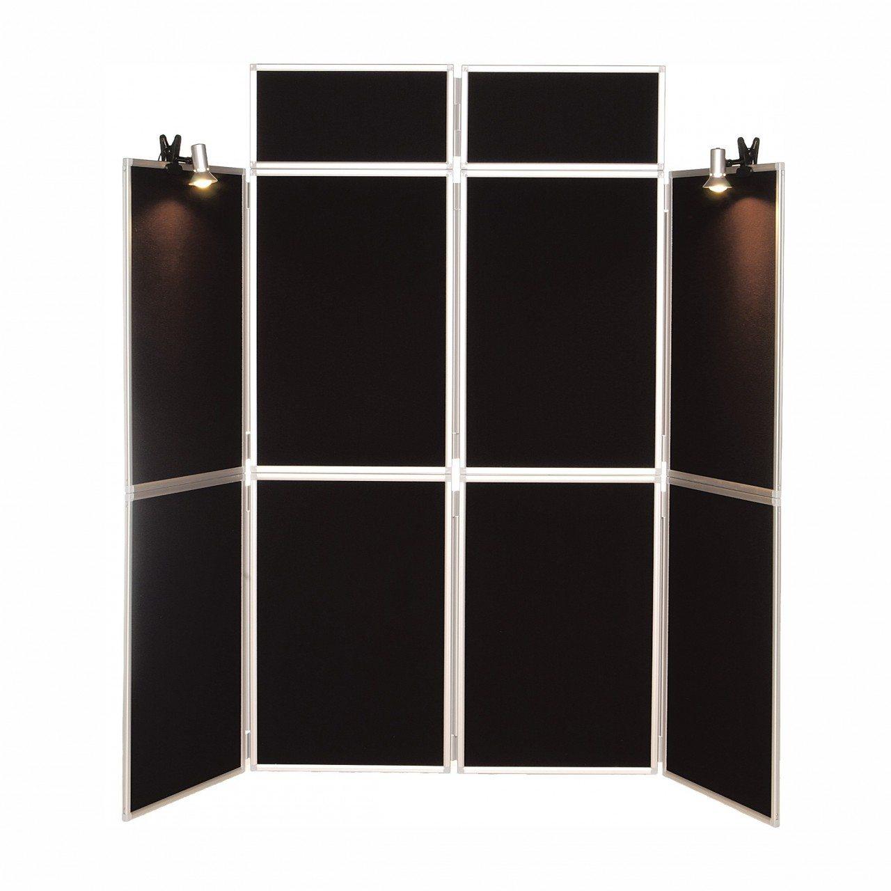 8 Panel Folding Display Board Aluminium Frame Grace