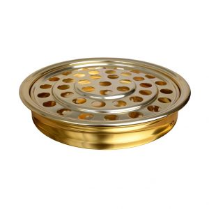 Brasstone Communion Tray