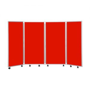 Mobile Concertina Room Divider – 1200 High