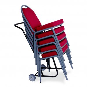 Metal Stacking Waterfall High Back Chair (From £44.95 + VAT)