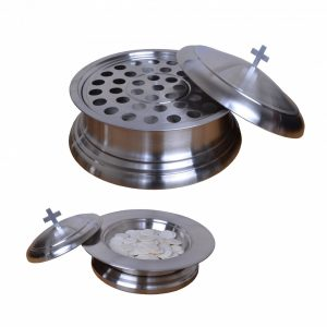 Stainless Steel Communion Set 03