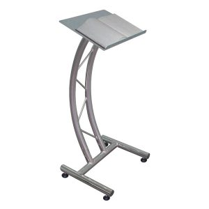 Aluminium 200 Series Curved Ladder Lectern