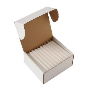 6″ x 1/2″ White Votive Candles – 500 Pack