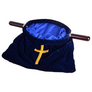 Large Offering Bag Blue