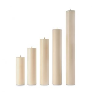 12″ x 75mm Diameter Nylon Candle