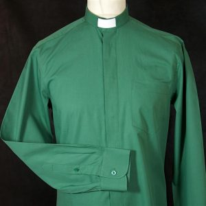 Mens Fairtrade Clerical Shirt Green