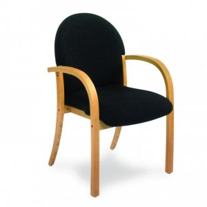 Wooden Conference Chair & Arms (From £140 + VAT)