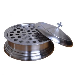 Stainless Steel Communion Set 01