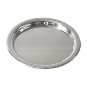 Pewter Bread Plate 01