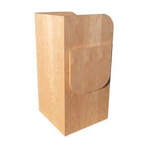 AV Wood Lectern 01