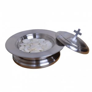 Stainless Steel Bread Plate Set 01