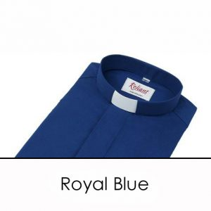 Men's Polycotton Reliant Clerical Shirt 1″ Collar