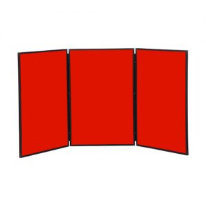 3 Panel Table Top Folding Notice Board