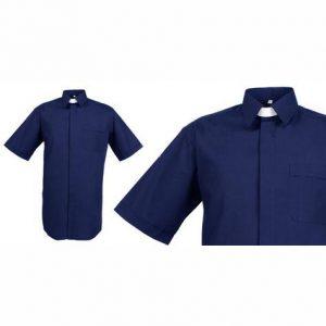 Men's Reliant Short Sleeve Clerical Shirt – Regular Collar