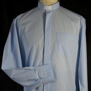 Mens Fairtrade Clerical Shirt Striped