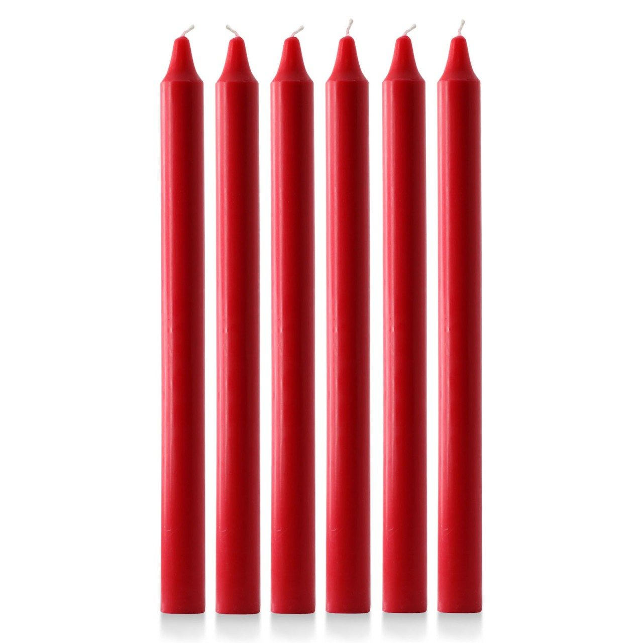 15 x 1 1 8 advent candles 6 red grace church supplies. Black Bedroom Furniture Sets. Home Design Ideas