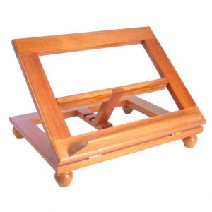 Small Wood Bible Stand