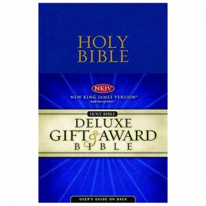 NKJV Gift Award Flexibind Bible Blue