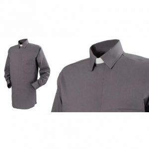 Men's Reliant Collar Attached Clerical Shirt