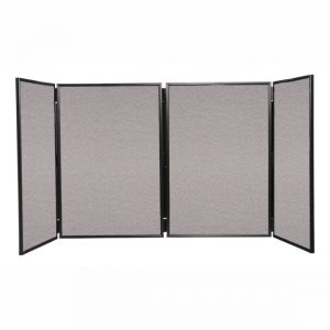 4 Panel Table Top Folding Notice Board